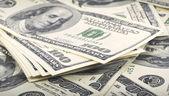 Dollar banknotes — Stockfoto