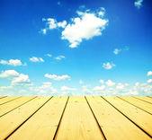 Tableros de madera — Foto de Stock