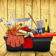 Toolbox with instruments — Stock Photo #51452361