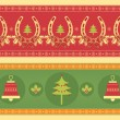 Christmas decoration elements for design.New year image - Stock Vector