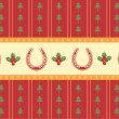 Christmas decoration background for design — Image vectorielle