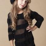 Fashion kid girl — Stock Photo #12631100