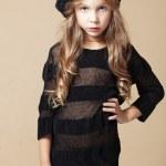 Fashion kid girl — Stock Photo #12631101