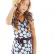 Fashion kid girl — Stock Photo #12804587