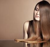 Vackert hår — Stockfoto