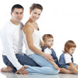 Happy family — Stock Photo #16834347