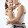 Beautiful athletic couple — Stock Photo