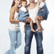 Foto Stock: Happy family