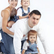 Happy family — Stock Photo #18728387