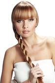 Perfektní vlasy — Stock fotografie