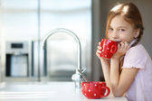 Breakfast at home — Stock Photo