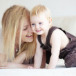 Mother with her child — Stock Photo