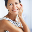 Beautiful middle aged woman - Stock Photo