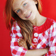 Redheaded child — Stock Photo #29745741