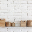 Decorative shelf — Stockfoto