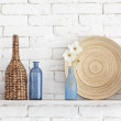 Stock Photo: Decorative shelf