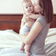 Mother with her baby — Stock Photo #35239571