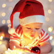 First Christmas — Stock Photo