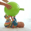 Stock Photo: Baby gymnastic