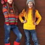 Little fashion girls — Stock Photo #36006757