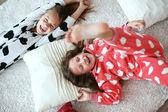 Pajamas party — Stock Photo