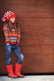 ファッションの少女 — ストック写真