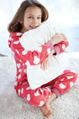 Child in pajamas — Stock Photo