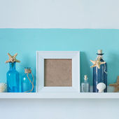 Summer interior decor — Stock fotografie