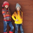 Постер, плакат: Little fashion girls