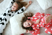Pajamas party — Stock Photo