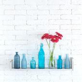 Dekoracyjne półki — Zdjęcie stockowe