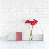 Decorative shelf — Stock Photo