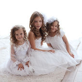 Little girls — Stock Photo