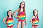 Children in swimwear — Stock Photo