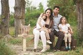 Family portrait — Stok fotoğraf