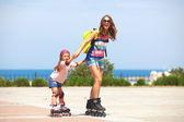 Rollerskating — Stock Photo