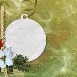 Merry christmas card — Stock Photo #18304831