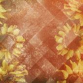 ビンテージの紙の花を持つ — ストック写真