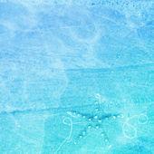 Sea Greeting Card — Stock Photo