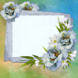 Stock Photo: Background for congratulation card
