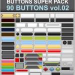 Buttons super set — Stock Vector #24166891