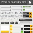 Web design elements set — Stock Vector #35835689