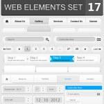 Web design elements set — Stock Vector