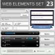 Web design elements set — Imagen vectorial