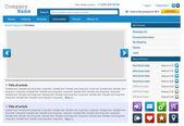 Set di elementi di web design — Vettoriale Stock