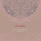 Elegant invitation card — Stock Vector