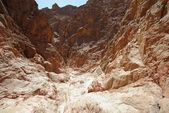 Scenic desert canyon near Eilat, Israel — Stock Photo
