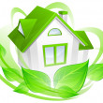Постер, плакат: Environment concept with house