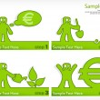 Grow money — Imagen vectorial