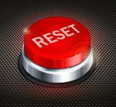 Button reset — Stock Vector